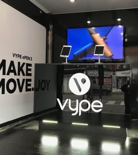 Vype Truck Interior-1